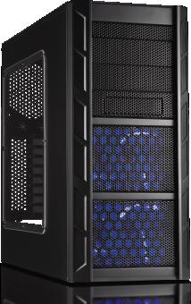 CASECOM - pc case midi tower gaming CS13 matrix